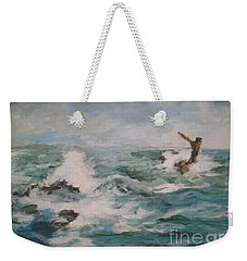 The Sea Weekender Tote Bag by Rushan Ruzaick