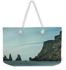 The Sea Stacks Of Vik, Iceland Weekender Tote Bag