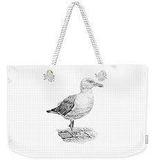 The Seagull Strut Weekender Tote Bag