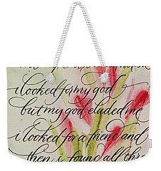 The Searcher By Thomas Blake Weekender Tote Bag