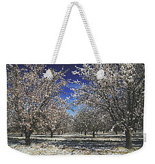 Weekender Tote Bag featuring the photograph The Season Of Us by Laurie Search