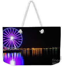 The Seattle Ferris Wheel Weekender Tote Bag