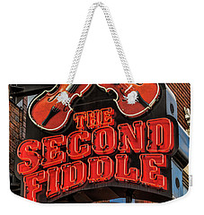 Weekender Tote Bag featuring the photograph The Second Fiddle Nashville by Stephen Stookey