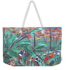 The Secret Covey Weekender Tote Bag