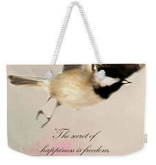 Weekender Tote Bag featuring the photograph The Secret by Darren Fisher