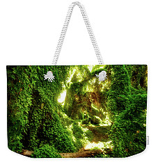 Weekender Tote Bag featuring the photograph The Secret Garden, Perth by Dave Catley