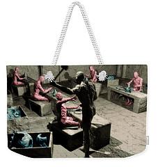 The Secret Price Of Savings Weekender Tote Bag