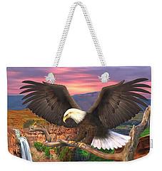 The Sentinal Weekender Tote Bag