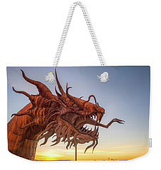 The Serpent At Sunrise #3 Weekender Tote Bag