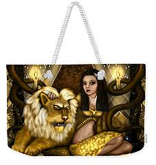 The Serpent Gateway Fantasy Art Weekender Tote Bag