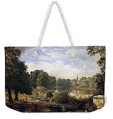 The Serpentine Weekender Tote Bag by Jasper Francis Cropsey