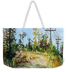 The Service Road Weekender Tote Bag by Jim Phillips