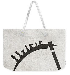 Weekender Tote Bag featuring the digital art The Seventh Seal Aka Det Sjunde Inseglet by Ayse Deniz