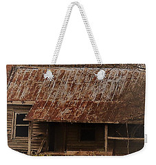 Weekender Tote Bag featuring the photograph The Shack by Aaron Martens