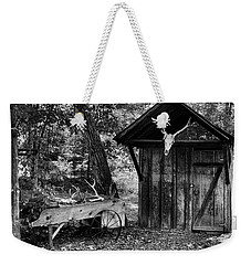 The Shack Weekender Tote Bag by Wade Courtney
