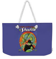 The Shadow Green Eyes Weekender Tote Bag