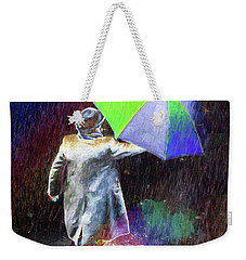Weekender Tote Bag featuring the photograph The Sheer Joy Of Puddles by LemonArt Photography