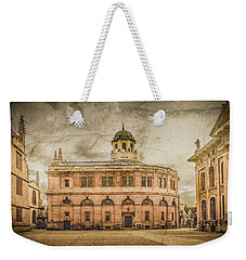 Oxford, England - The Sheldonian Theater Weekender Tote Bag