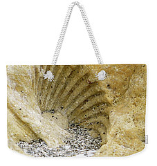 The Shell Fossil Weekender Tote Bag