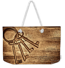 The Sheriff Jail Keys Weekender Tote Bag by American West Legend By Olivier Le Queinec