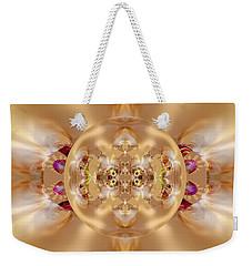 The Shine Of Satin Weekender Tote Bag