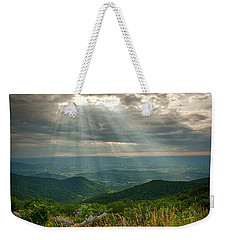 The Shining Valley Weekender Tote Bag