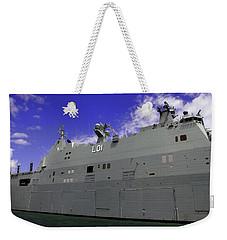 The Ship Is Huge Weekender Tote Bag