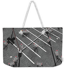 The Shopping Cart Fiasco Weekender Tote Bag