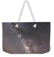 Weekender Tote Bag featuring the photograph The Shore Of Night by Alex Lapidus