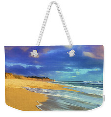 The Shoreline At Half Moon Bay Weekender Tote Bag