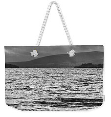 Weekender Tote Bag featuring the photograph The Shores Of Loch Lubnaig by Christi Kraft