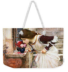 The Shrine Weekender Tote Bag by John William Waterhouse