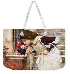 The Shrine Weekender Tote Bag by John William Waterhouse
