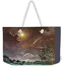 The Silence Of A Falling Star Weekender Tote Bag