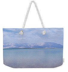 The Silence Of The Dead Sea Weekender Tote Bag by Yoel Koskas