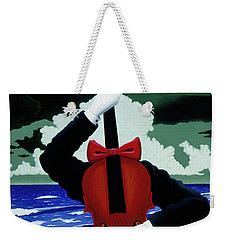 The Silent Soloist Weekender Tote Bag