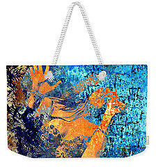The Singer Weekender Tote Bag by Annie Zeno
