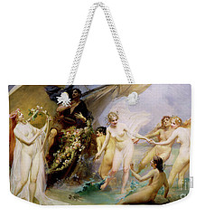 The Sirens Weekender Tote Bag by Edouard Veith