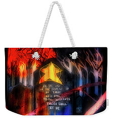 Weekender Tote Bag featuring the photograph The Sisterhood by Mark Dodd