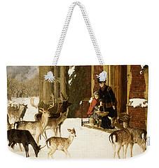 The Sisters Of Charity Weekender Tote Bag by Charles Burton Barber