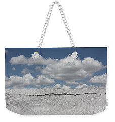 Weekender Tote Bag featuring the photograph The Sky Is Falling by Brian Boyle