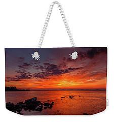The Sky Is On Fire Weekender Tote Bag
