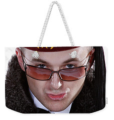 The Smarmy Russian Weekender Tote Bag by Xn Tyler