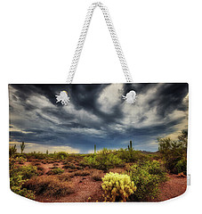 Weekender Tote Bag featuring the photograph The Smell Of Rain by Rick Furmanek