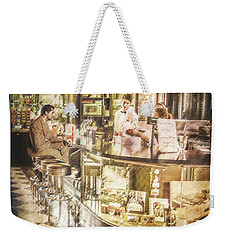 The Soda Fountain Weekender Tote Bag