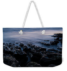 The Soft Edge Of Sunset Weekender Tote Bag by Alex Lapidus