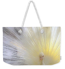 The Softer Side Of White Weekender Tote Bag
