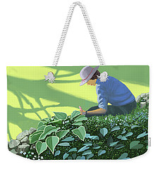 The Solace Of The Shade Garden Weekender Tote Bag