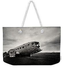 The Solheimsandur Plane Wreck Weekender Tote Bag