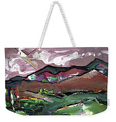 The Son From The Clouds Weekender Tote Bag by John Jr Gholson